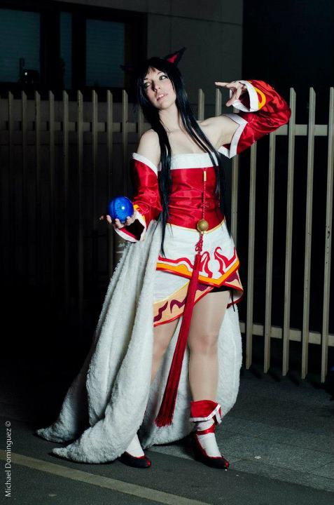 lol cosplay ahri