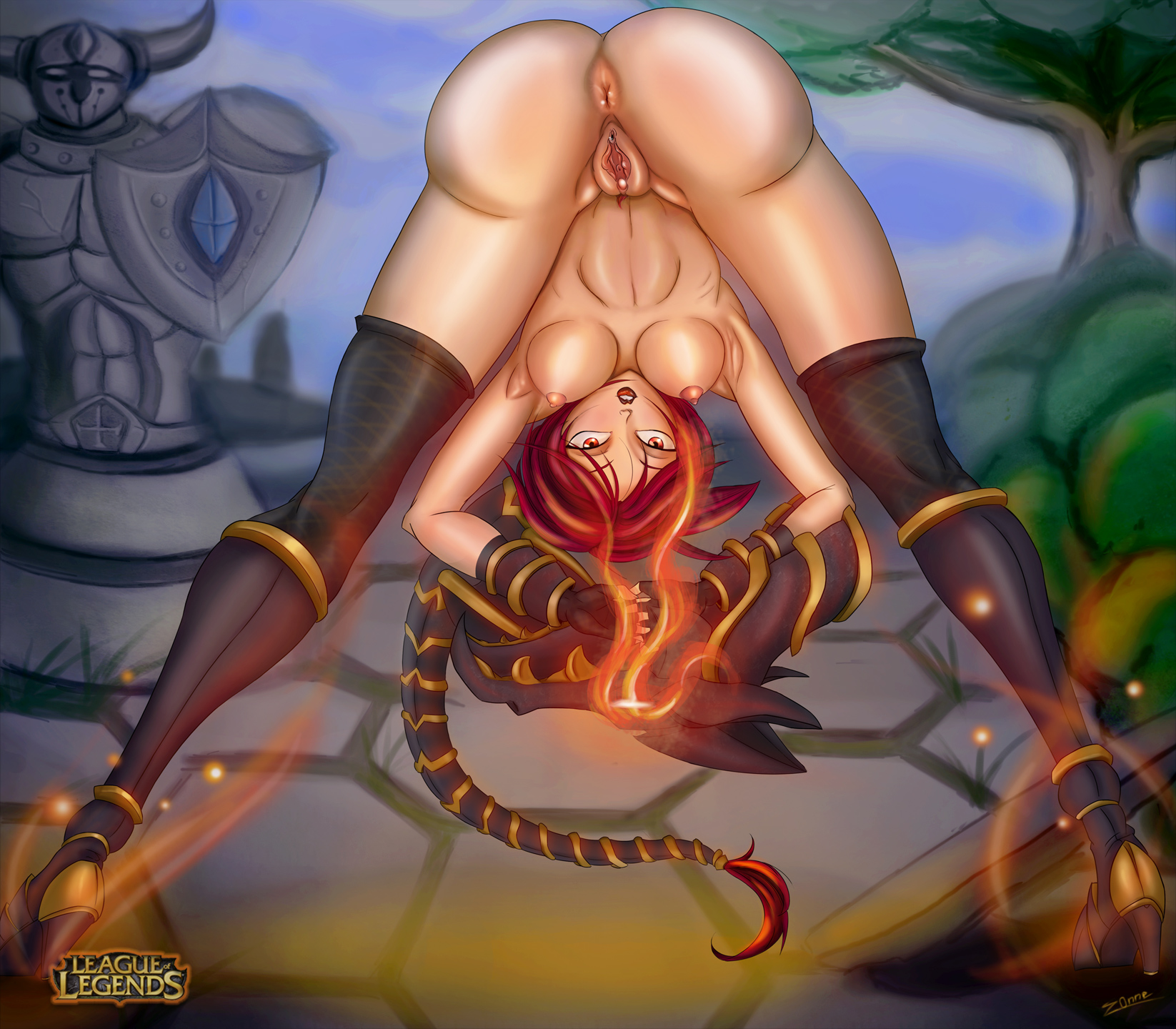 Shyvana!ass hole,vol.1