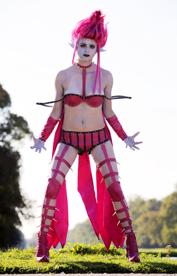 Evelynn lol cosplay!