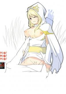 blonde ashe hentai