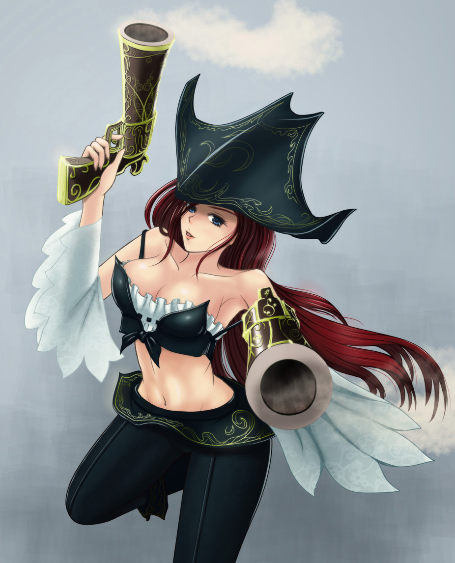 Miss fortune with guns