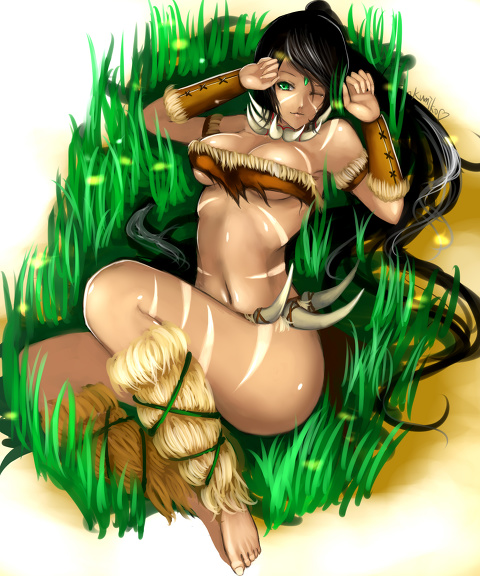 perfect girl,nidalee!