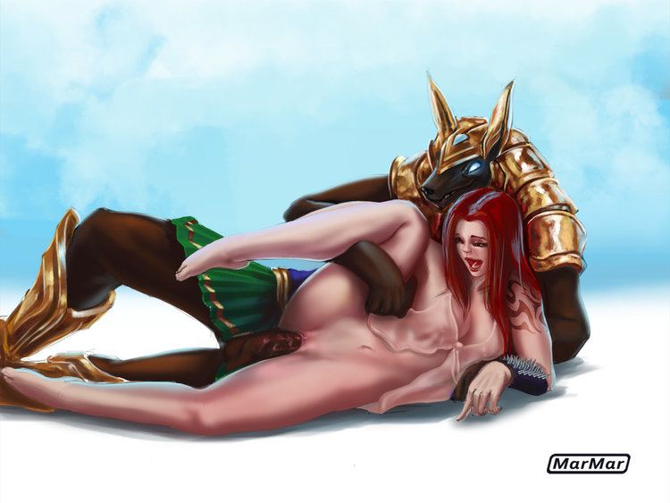 Nasus and Sona