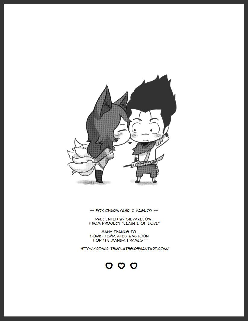 [Sieyarelow] Fox Charm (Ahri x Yasuo) (League of Legends) [English]25