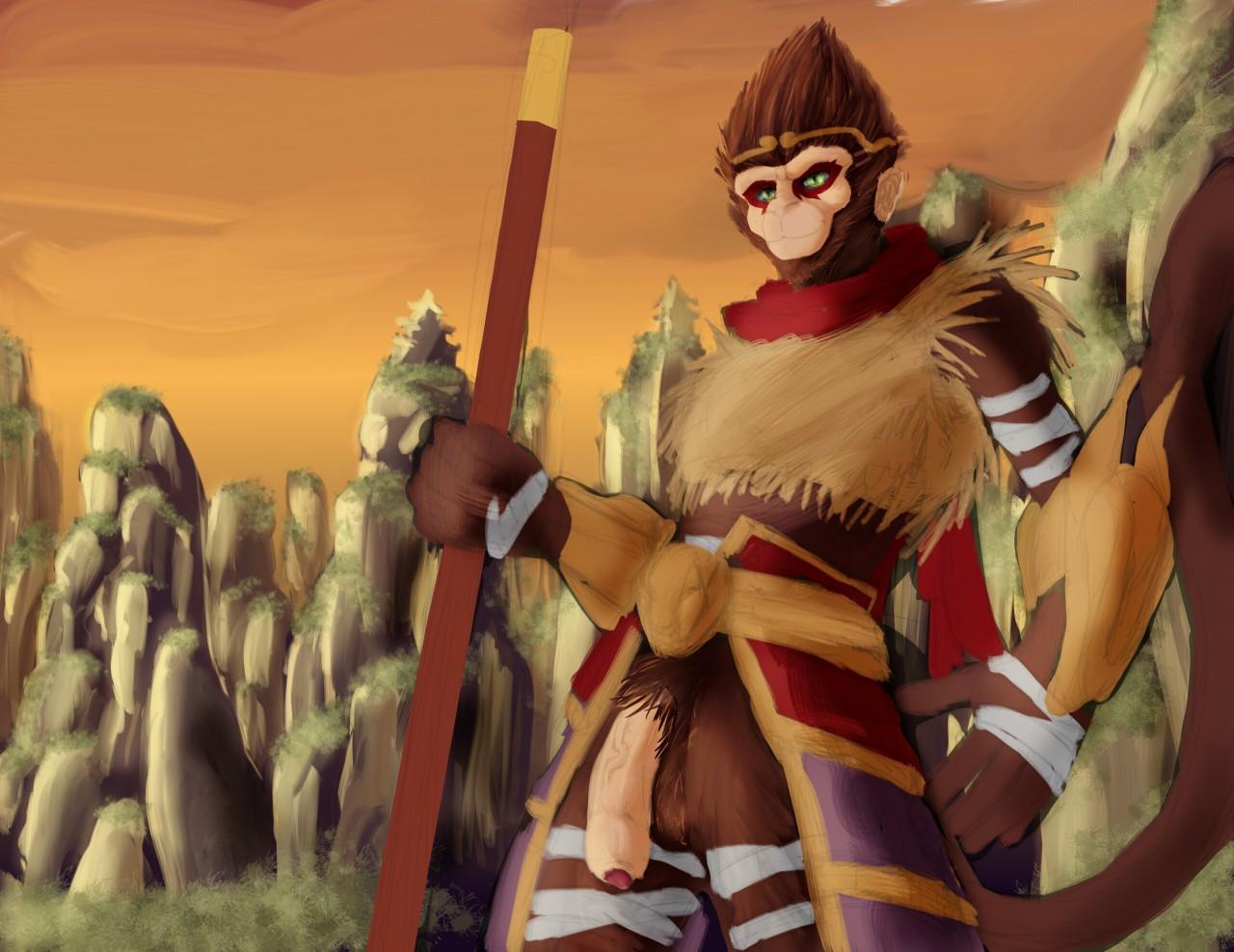 League_of_Legends Siriusandpyri wukong