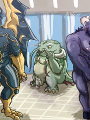 Alistar, Galio and Tahm Kench