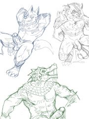 Renekton, Rengar and Warwick