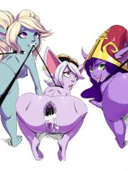 Lulu, Poppy and Tristana