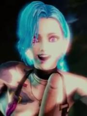 Jinx Video hentai 3D league of legends