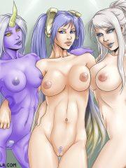 Sona, Soraka and Syndra
