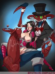 Cho'Gath and Irelia