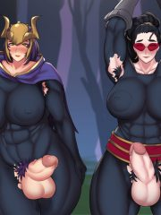 Quinn and Vayne