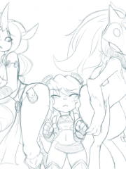 Kindred, Soraka and Tristana