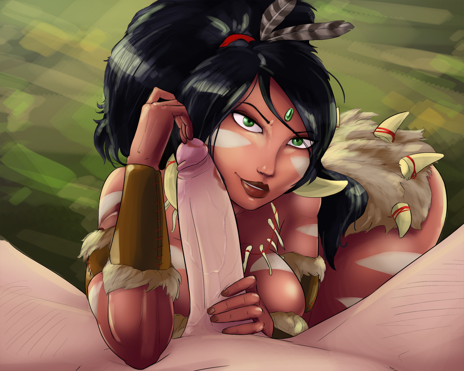 2255465 - League_of_Legends Magnetus Nidalee