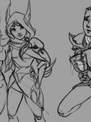 Diana and Xayah
