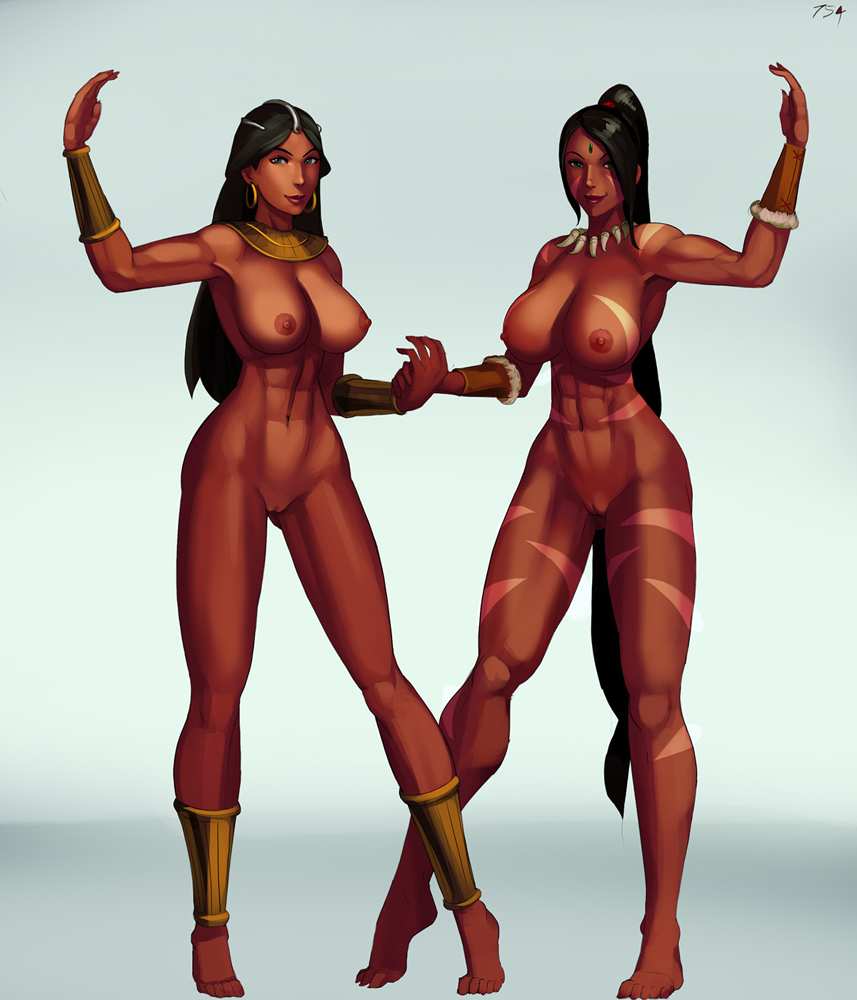2320945 - Aka6 Diablo League_of_Legends Nidalee Sorceress crossover