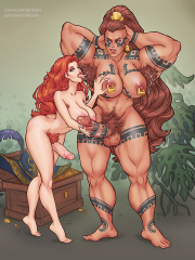 Illaoi and Miss Fortune