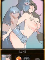 Akali and Shen