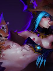 Evelynn and Gnar
