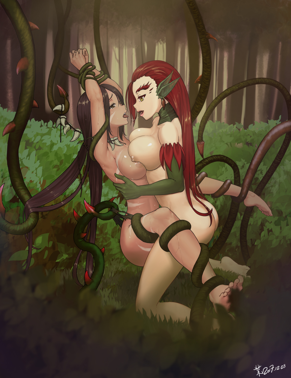 2454780 - League_of_Legends Nidalee Zyra