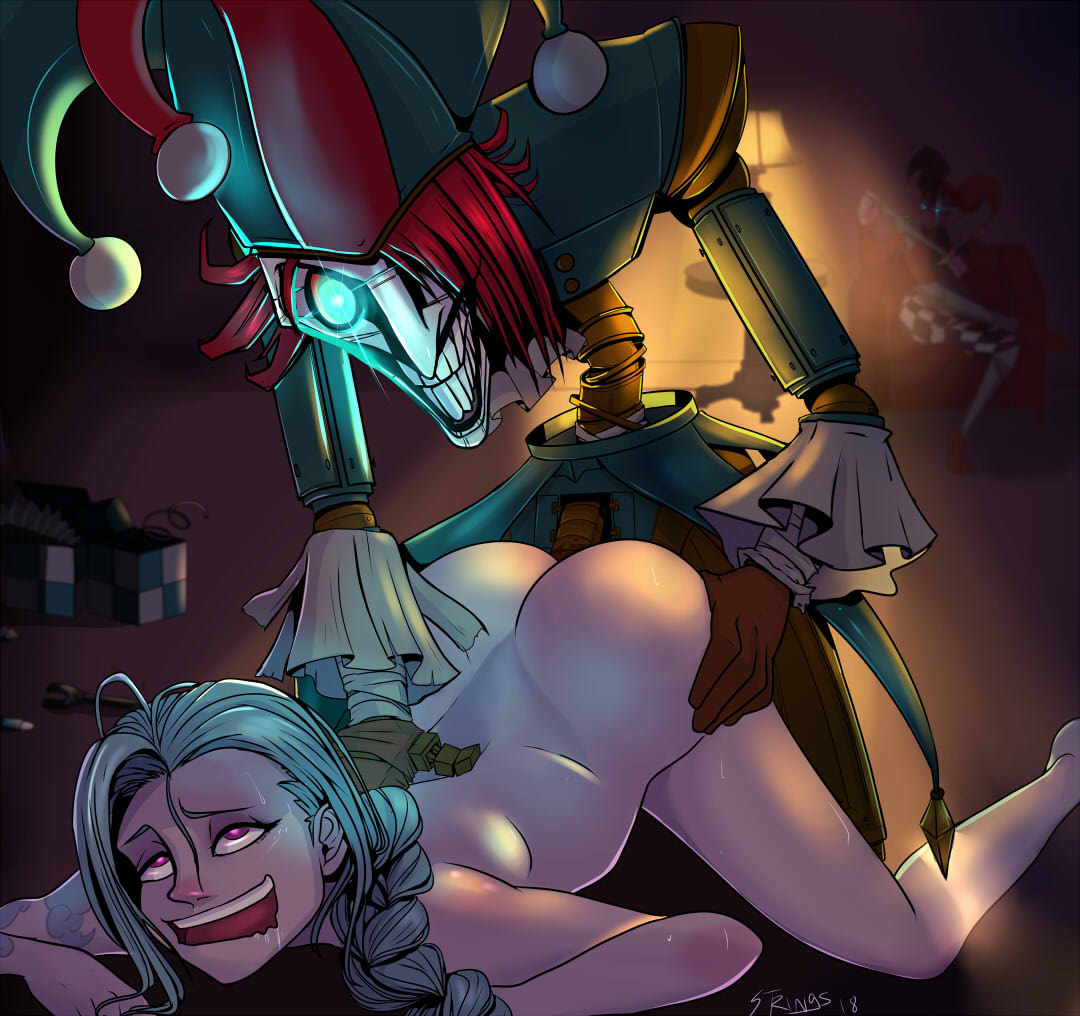 2515115 - Jinx League_of_Legends Puppets shaco