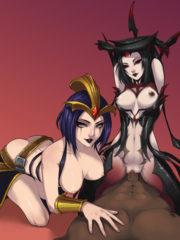 Elise and LeBlanc