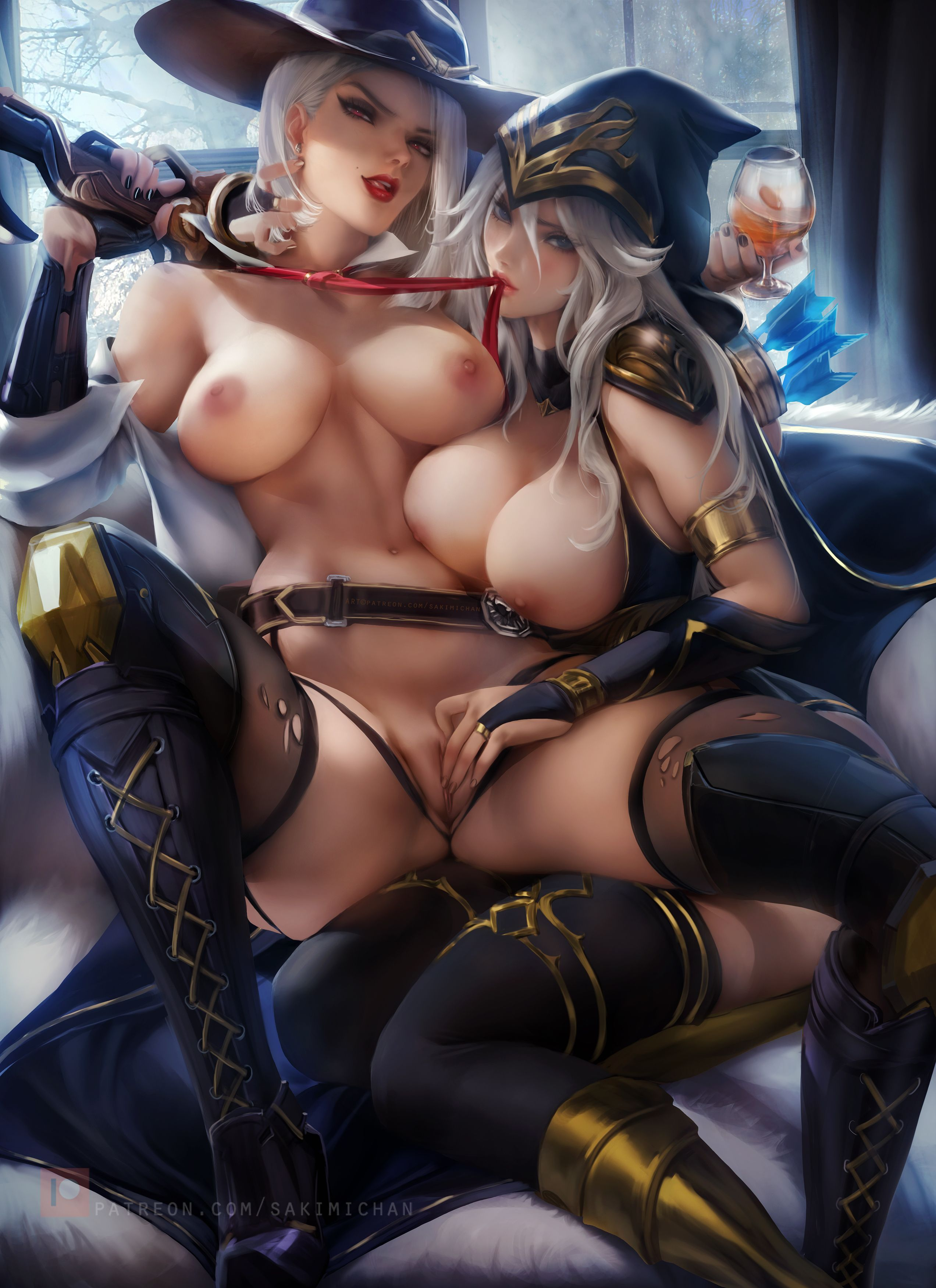 League Legends Hentai Ashe
