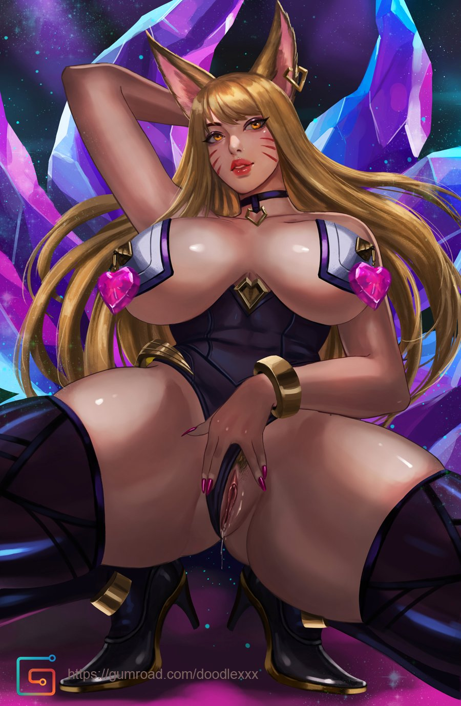 3003664 - Ahri KDA League_of_Legends ecoas