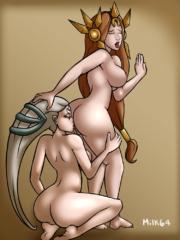 Diana and Leona