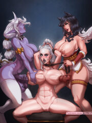 Ahri, Diana and Soraka