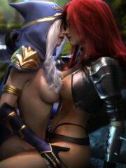 Ashe and Katarina