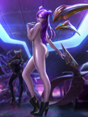 Ahri, Akali, Evelynn and Kai'Sa
