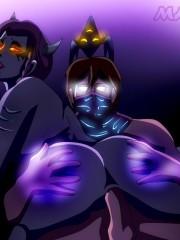Shyvana and Malzahar