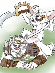 Kled and Rengar