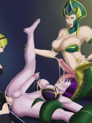 Cassiopeia, Lux and Morgana