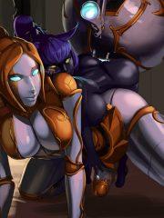 Orianna and Veigar