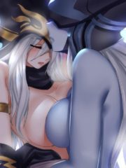 Ashe and Lissandra