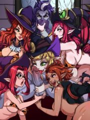 Janna, Miss Fortune, Morgana, Nidalee and Tristana