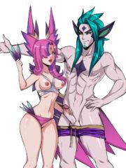 Rakan and Xayah