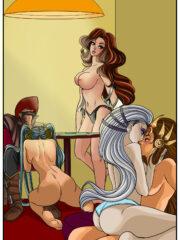 Diana, Leona, Miss Fortune and Sona